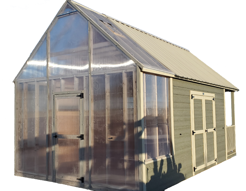 Custom Greenhouse/ Garage