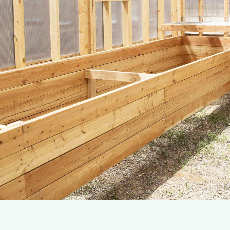 Greenhouse Raised Beds